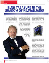 Tanzanite – Blue Treasure in the Shadow of Kilimanjaro