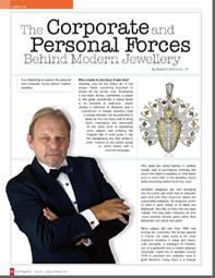 The Corporate and Personal Forces Behind Modern Jewellery