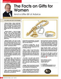 The Facts on Gifts for Women…..and a little bit of advice!