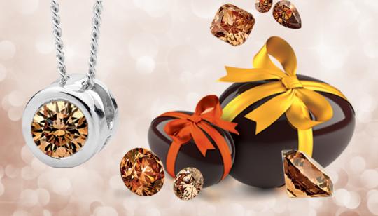 Mmmmmm; chocolate diamonds!