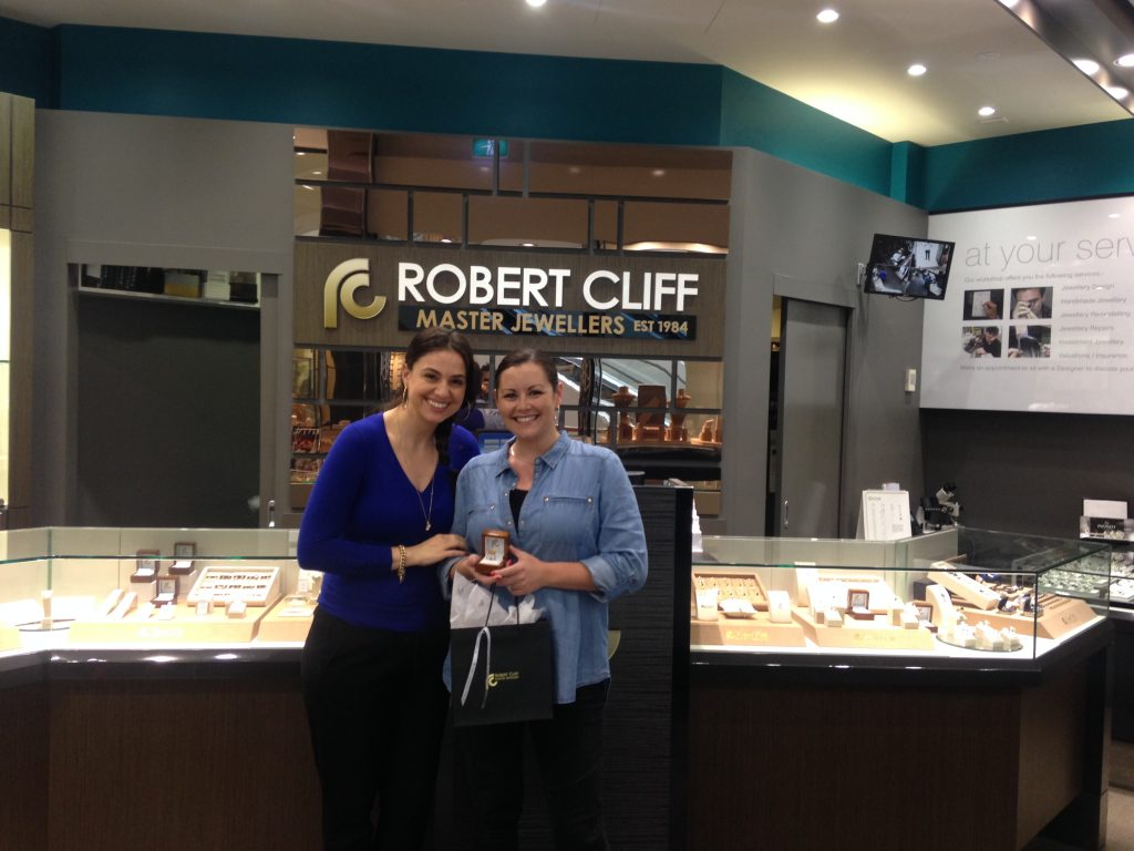 Robert Cliff Master Jewellers shopping spree winner