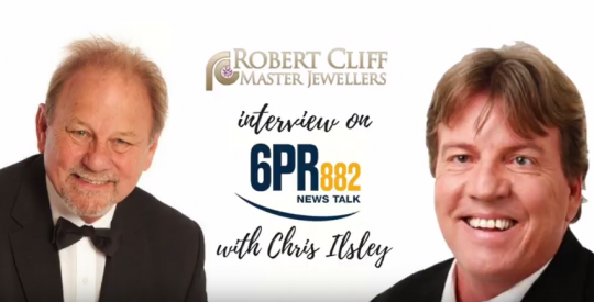 Robert Cliff Interview with Chris Ilsley on 6PR Radio