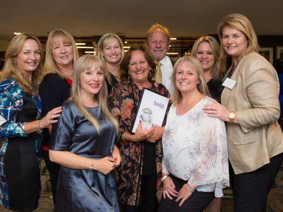 Sue Cliff Winner of The Hills Shire Council's IWD 2017 Philanthropist Award