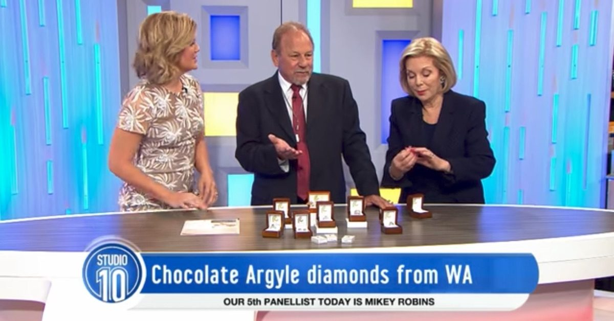 Talking Chocolate Diamonds On Studio 10