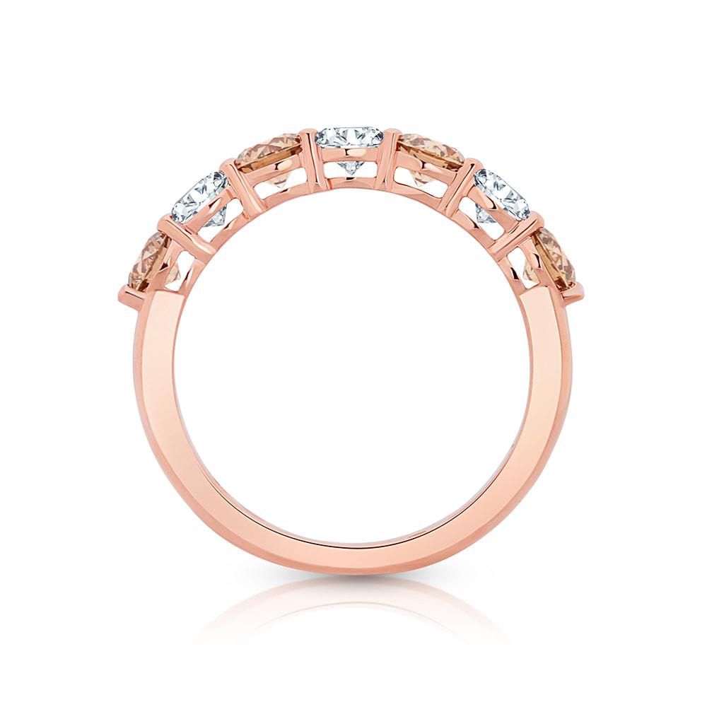 argyle chocolate diamond ring